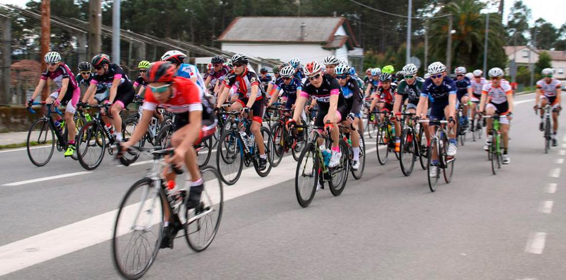 oziona carrera en la que participó el Club Ciclista Oziona-Barbanza
