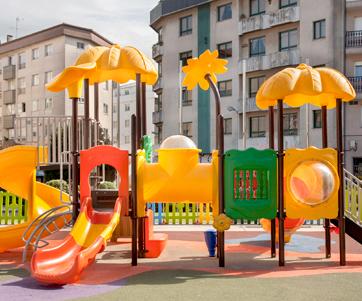 oziona parque infantil de exterior