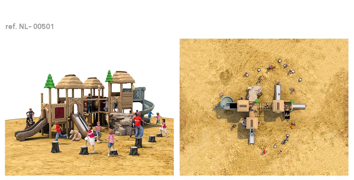 oziona parques infantiles cabaña NL-00501