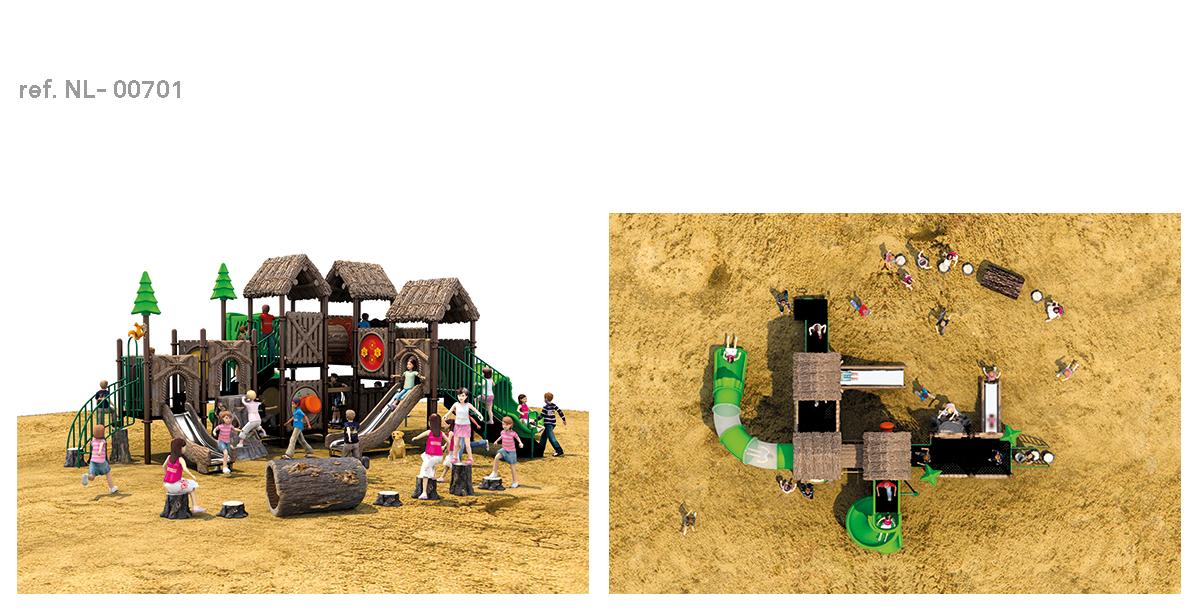 oziona parques infantiles cabaña NL-00701