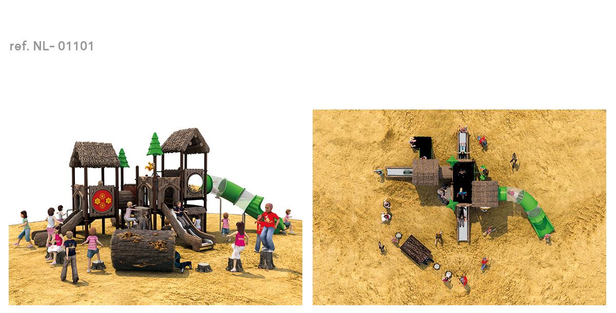 oziona parques infantiles cabaña NL-01101