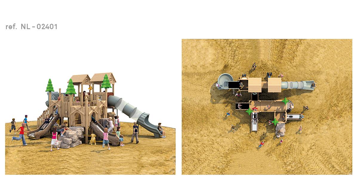 oziona parques infantiles cabaña NL-02401