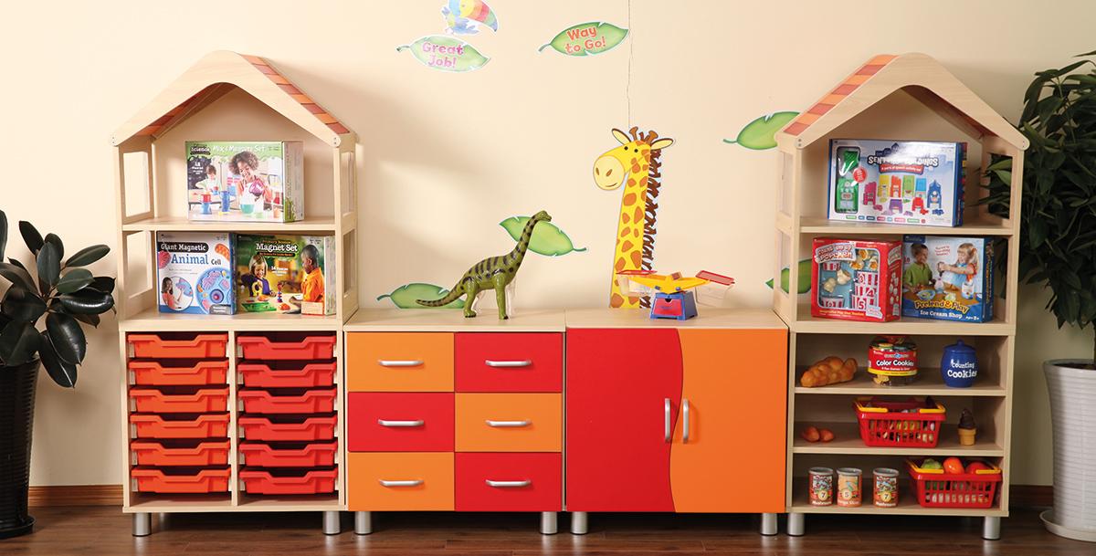 Mobiliario para guarder as oziona distribuci n y montaje for Muebles para guarderia