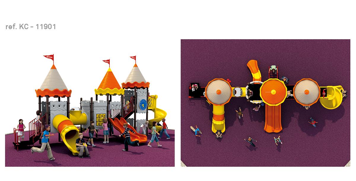 oziona parques infantiles castillo KC-11901