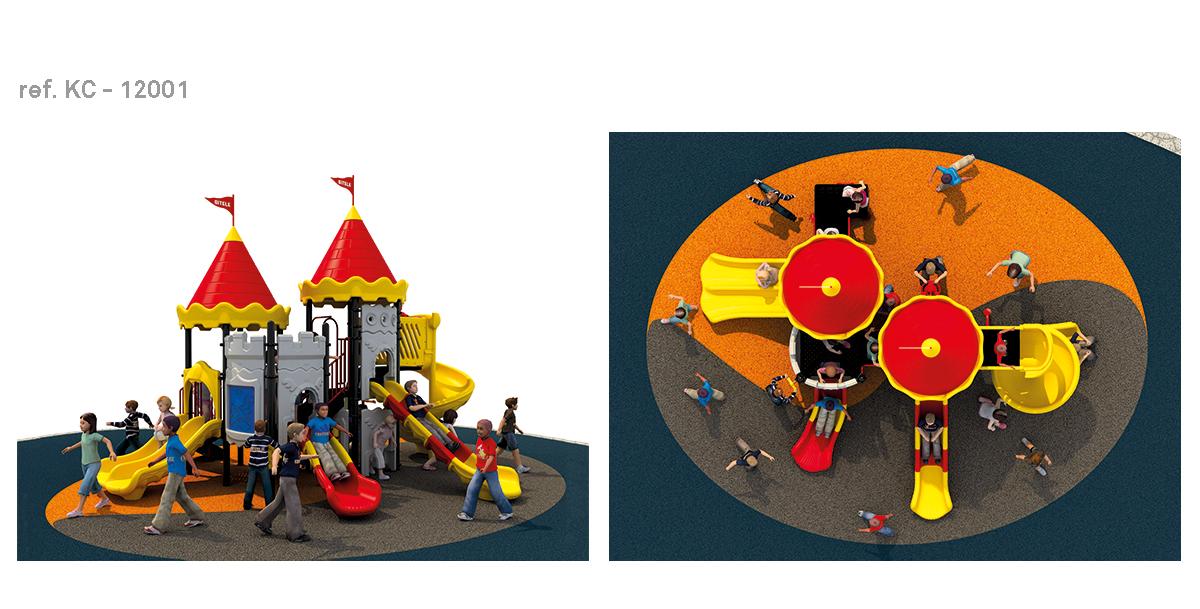oziona parques infantiles castillo KC-12001
