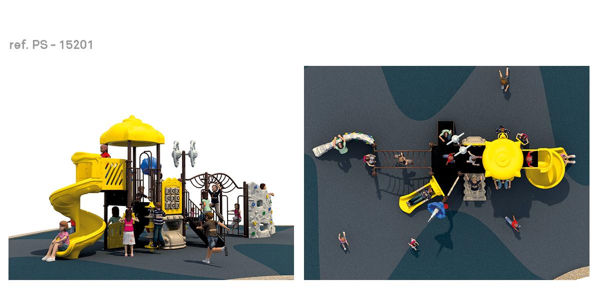 oziona parques infantiles espacial PS-15201