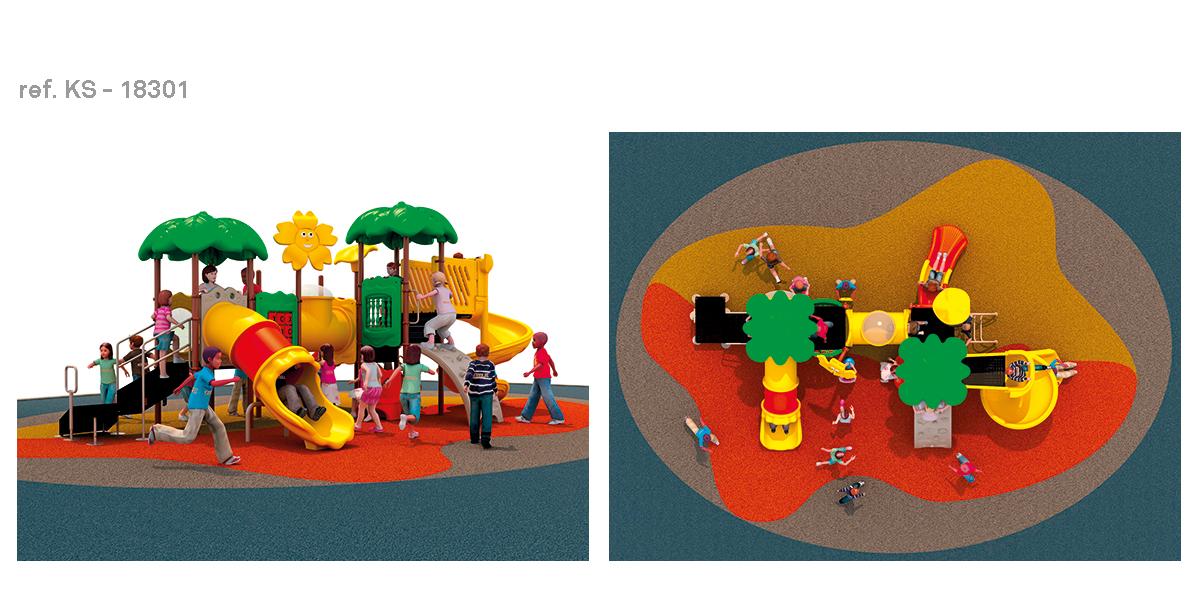 oziona parques infantiles garden KS-18301