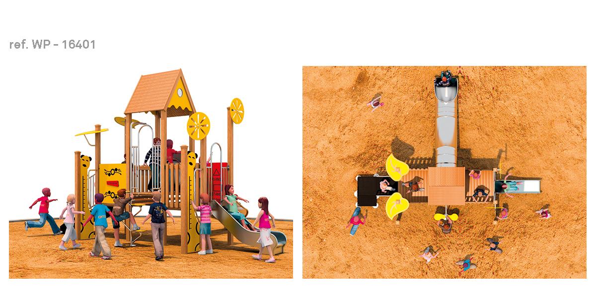 oziona parques infantiles house WP-16401
