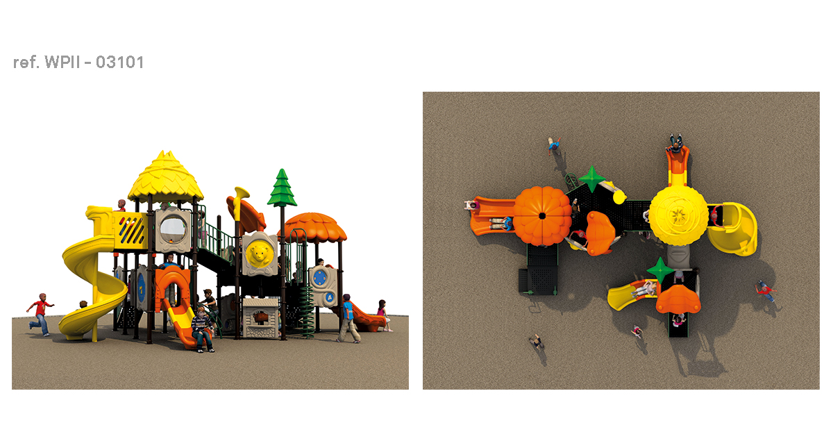 oziona parques infantiles refugio WPII-03101