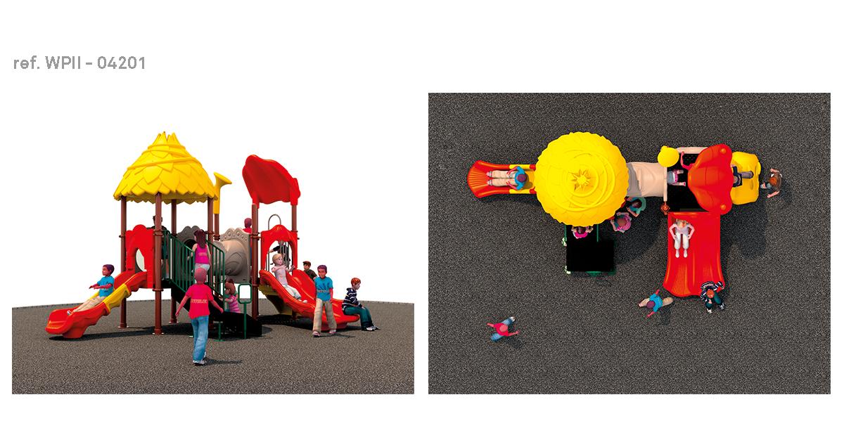 oziona parques infantiles refugio WPII-04201