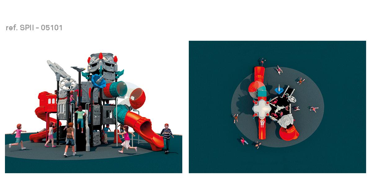 oziona parques infantiles robocob SPII-05101