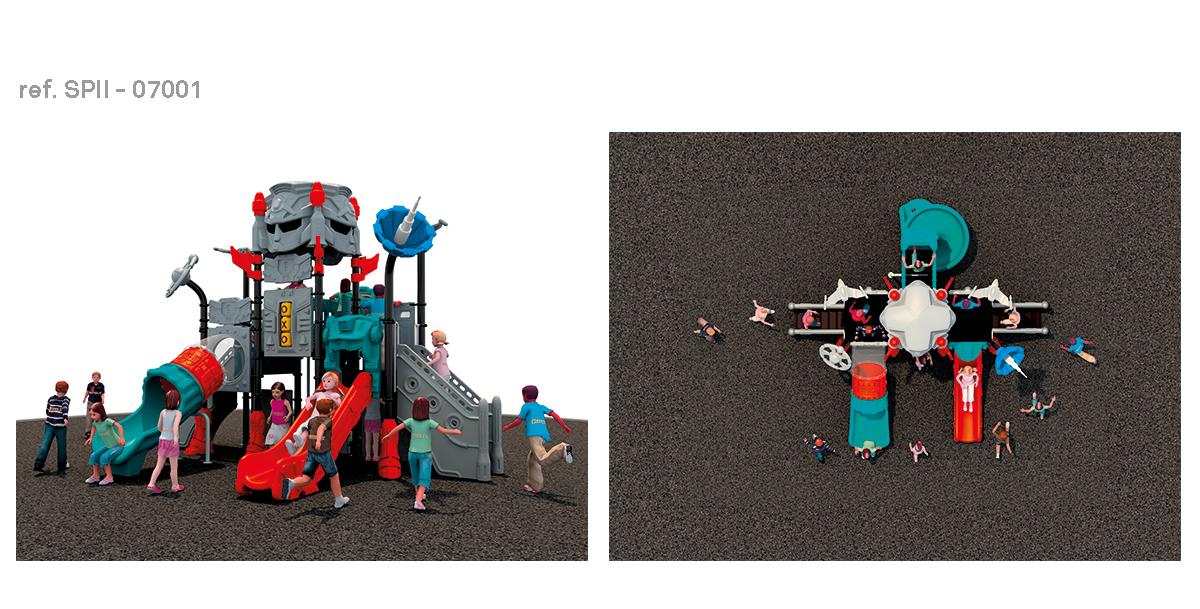 oziona parques infantiles robocob SPII-07001