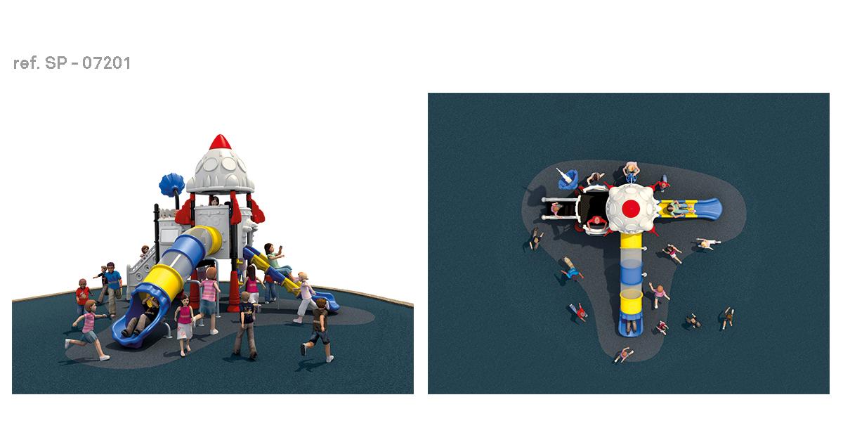 oziona parques infantiles satélite SP-07201