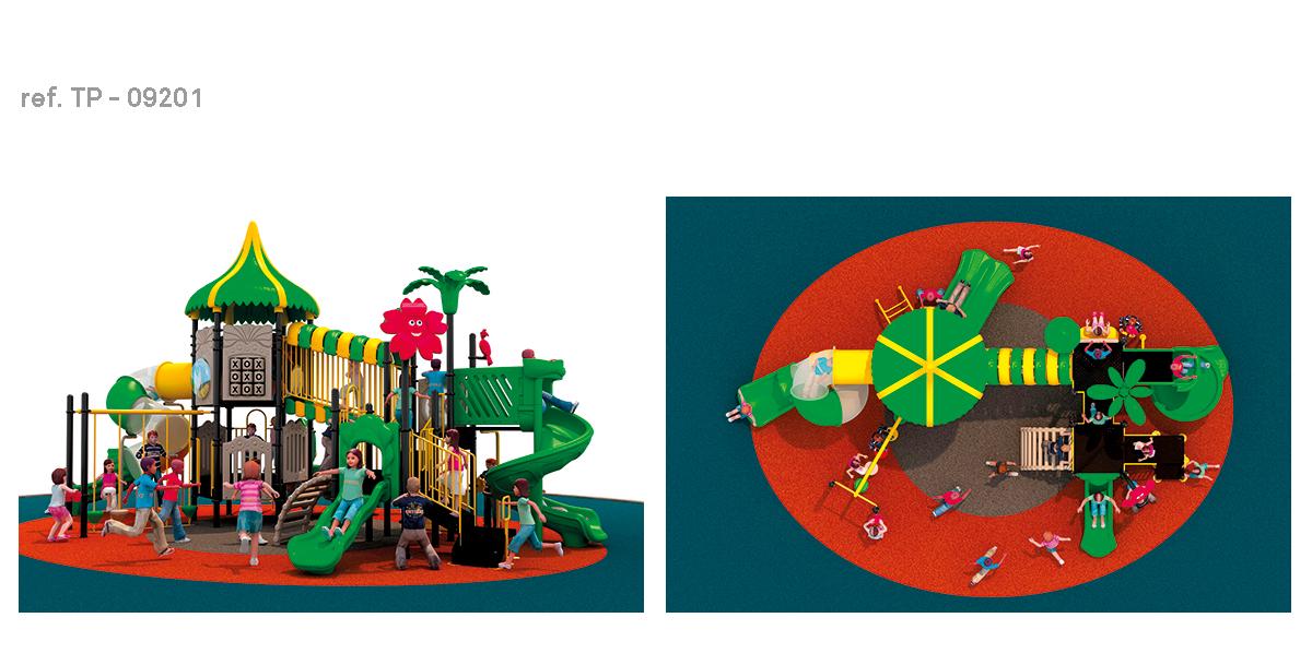oziona parques infantiles tropical TP-09201