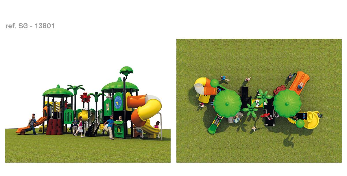 oziona parques infantiles vegetal SG-13601