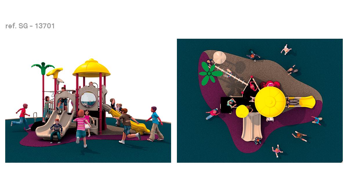 oziona parques infantiles vegetal SG-13701