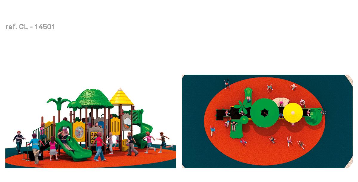 oziona parques infantiles hawai CL-14501