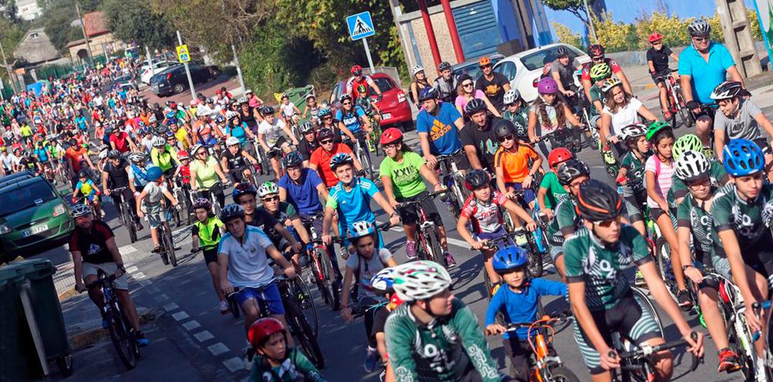 dia de la bicicleta en boiro