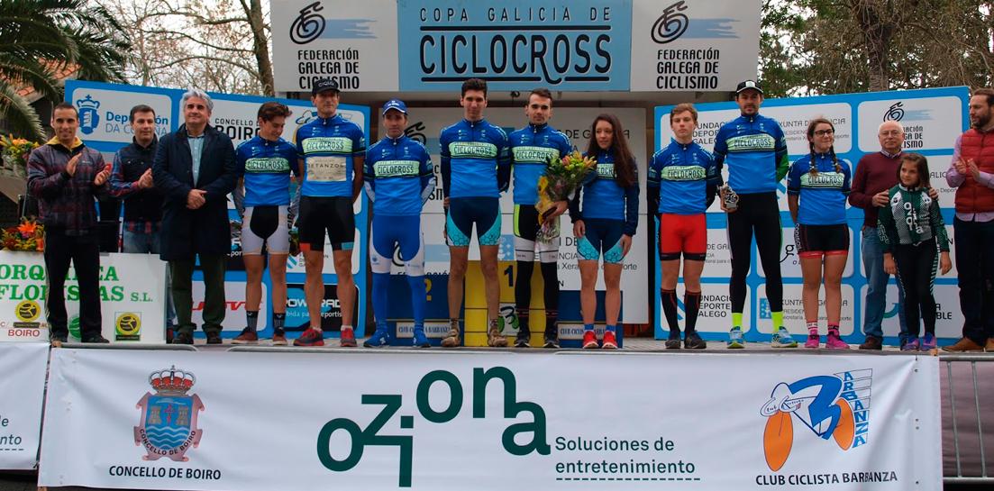 Club Ciclista Oziona-Barbanza organizó el XXIX Trofeo Concello de Boiro