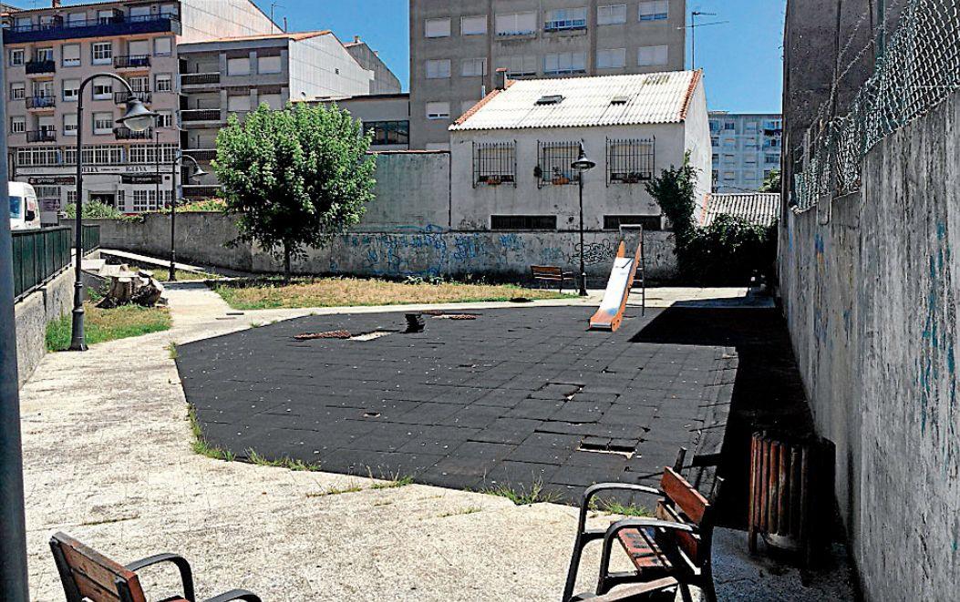 pavimentos en parques infantiles