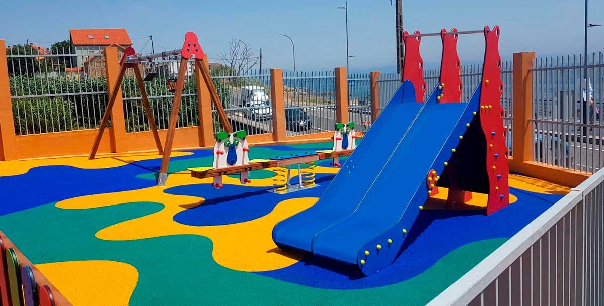 Parque infantil de exterior Oziona